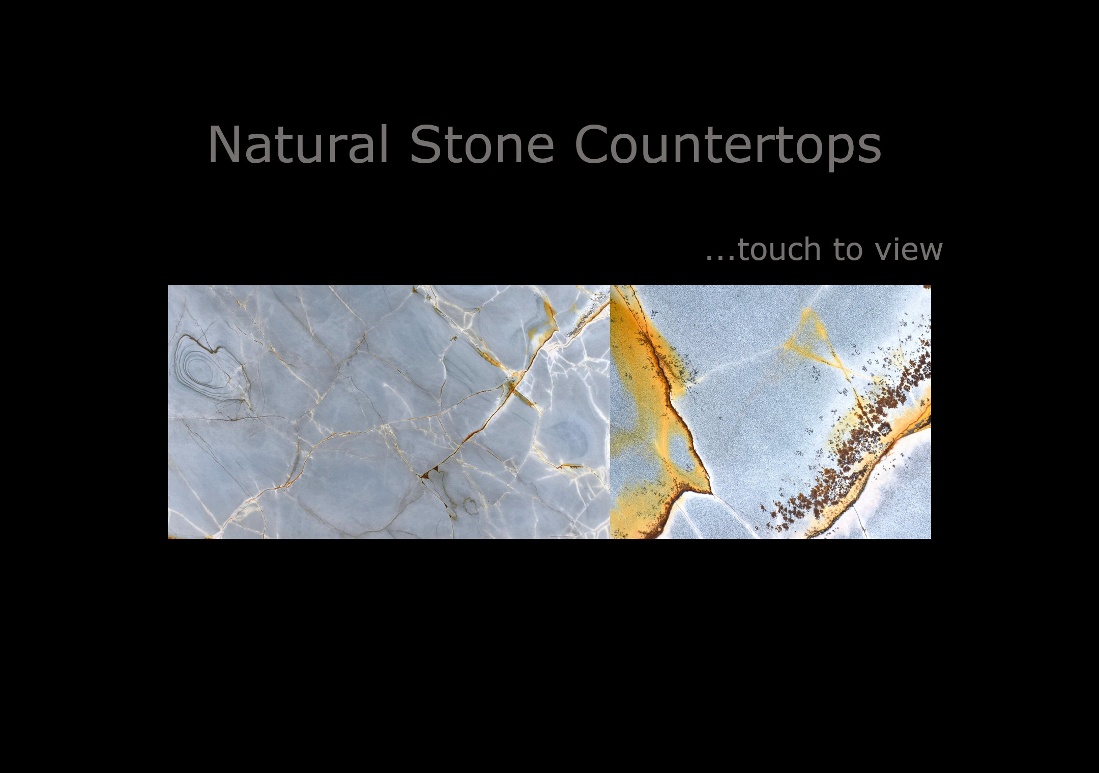 Click to View Natural Stone Countertop Options